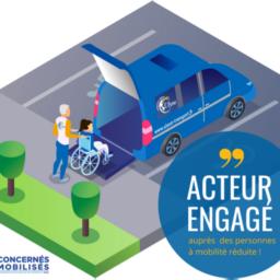 Ulysse transport partenaire mobilité pour l'association Make a Wish France